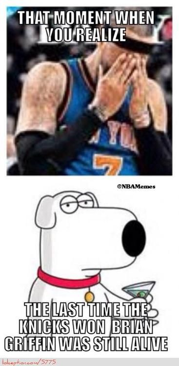 New York Knicks Sad Realization! - http://weheartnyknicks.com/nba-funny-meme/new-york-knicks-sad-realization