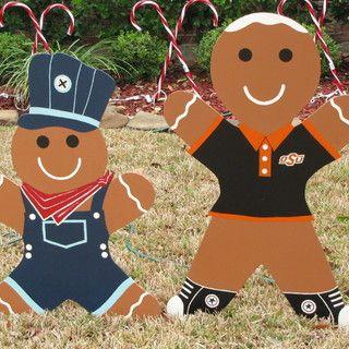 DIY Gingerbread Man Christmas Yard Decoration - Updated
