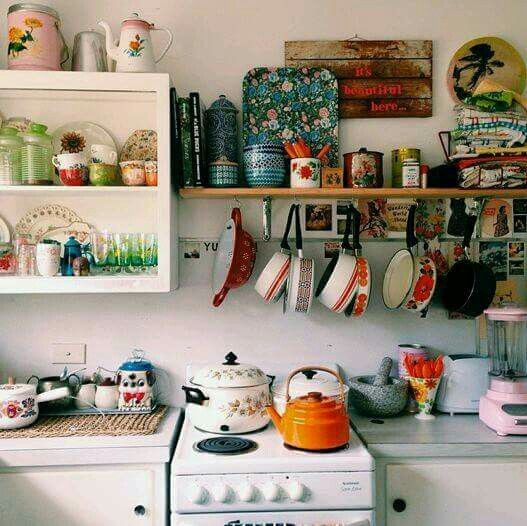 Colorful Kitchen Decor Pictures: Country Kitchens, Dream Kitchens And Farmhouse