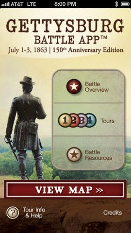 Gettsyburg Battle App