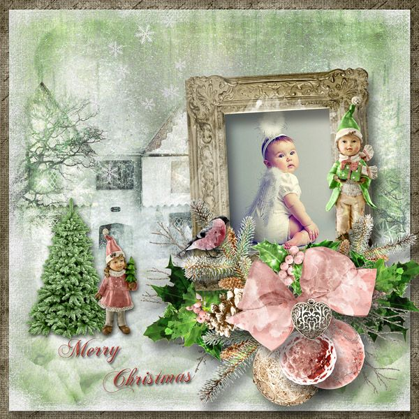 """""""The First Day of Christmas"""" by Angelique's Scraps"""