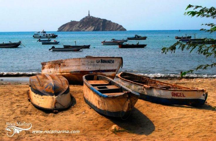 Taganga pueblo de pescadores