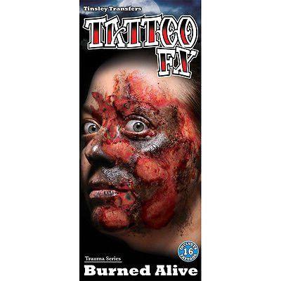 FX-Burned Alive Tattoo