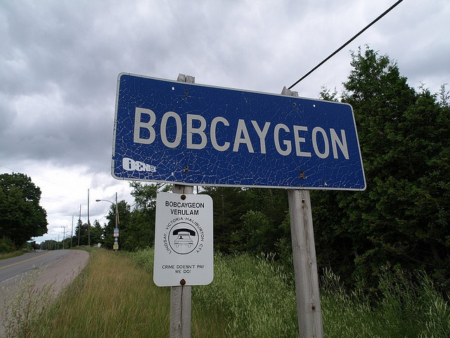 Bobcaygeon, Ontario.  Just because of the song!