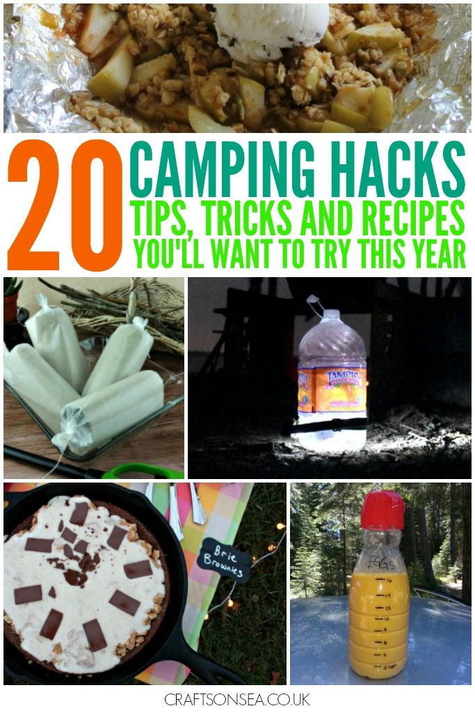 20 Camping Hacks To Try This Year