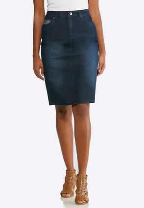 d4873f1dd Embellished Pocket Denim Skirt Skirts Cato Fashions in 2019 | Cato ...
