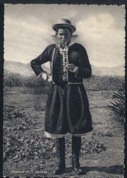 Costume maschile di Teulada.
