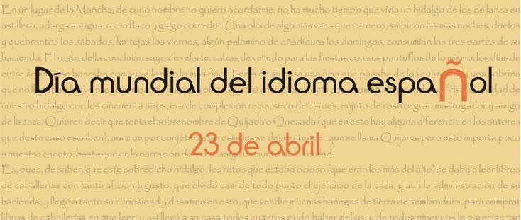 Día del idioma.