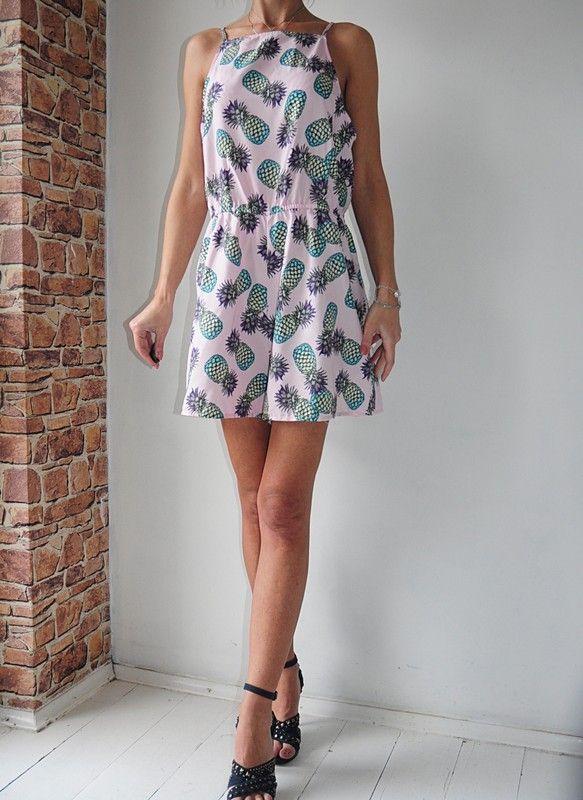 75670cad5c38a Primark kombinezon różowy wzorek 46 METKA - vinted.pl | dress | Primark,  Dresses i Casual
