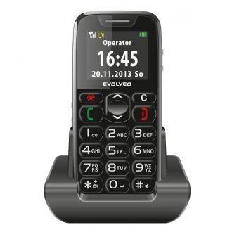 Obsługa telefonu komórkowego EVOLVEO EasyPhone została maksymalnie ułatwiona. Duże cyfry i litery są doskonale widoczne na kolorowym wyświetlaczu. Poszczególne przyciski są od siebie oddalone na tyle, aby ułatwić pisanie wiadomości sms lub by wybieranie numeru telefonicznego. Z tyłu telefonu znajduje się przycisk SOS, po naciśnięciu którego telefon zacznie automatycznie łaczyć się z zapisanymi numerami oraz wyśle na nie alarmową wiadomość SMS.