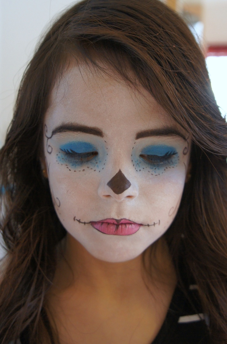 Monster High Skelita =D | Makeup Art | Pinterest