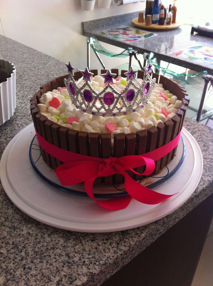 Torta de chocolate para princesitas!