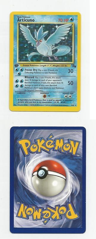 Other Pok mon TCG Items 2608: Pokemon Fossil Articuno Holo 1St Edition Nm M See Scans Free Shipping -> BUY IT NOW ONLY: $34.95 on eBay!