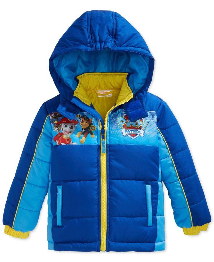 Dreamwave Little Boys Paw Patrol Coat Christmas