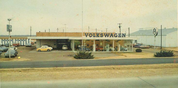 Vw Dealer Old Garage Gas Station Gaspump Etc