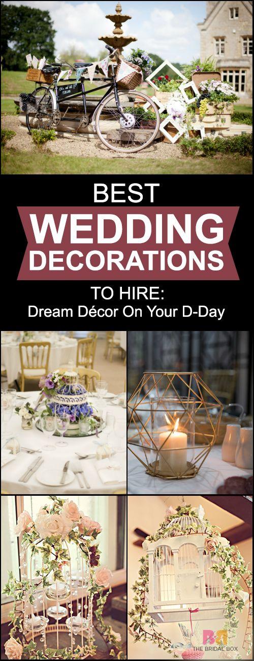 Best Wedding Decoration Hire-Worthy Curios: Dream Décor On Your D-Day