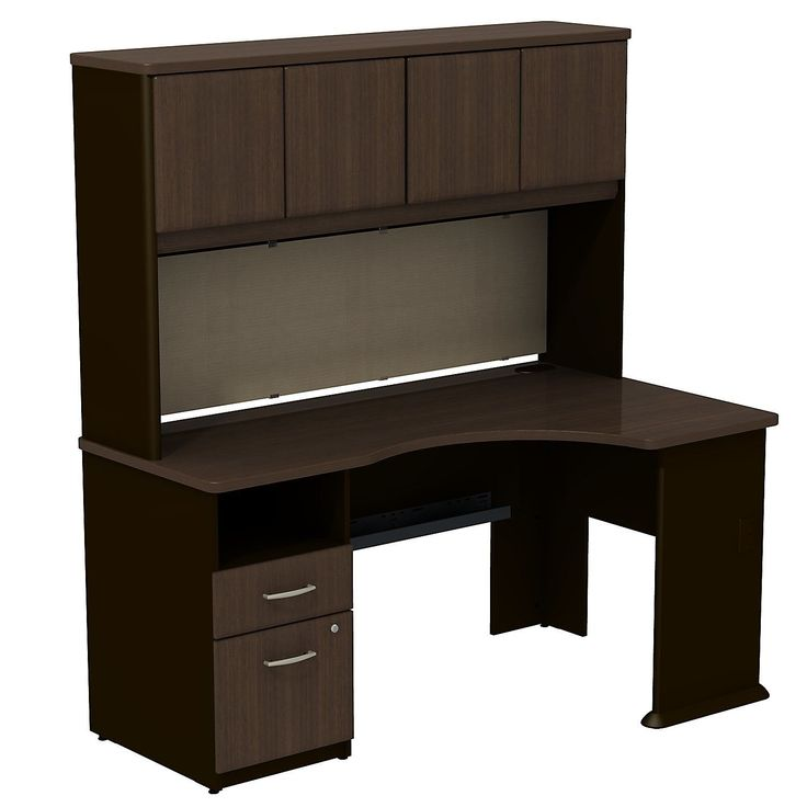 25 Best Ideas About Computer Desk With Hutch On Pinterest