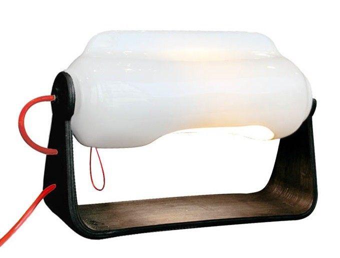 Lampe Polaire Boréale avec Support Noir Tsé-Tsé - Lili's