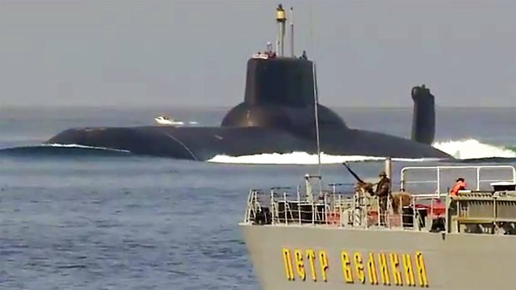 Check Out The World's Largest Submarine As It Sails Into The Tense Baltic Sea - The Drive