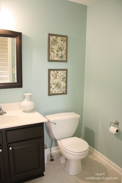 42 best images about bathroom on pinterest paint colors for Paint colors for powder rooms