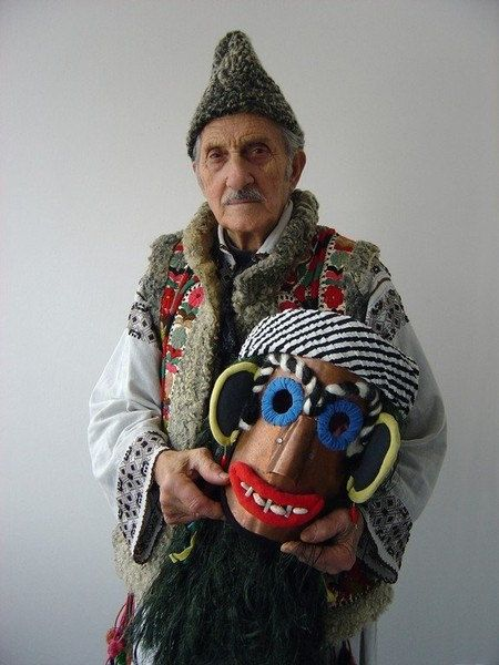 Traditional Romanian Mask made to order by AuthenticRomania, $80.00