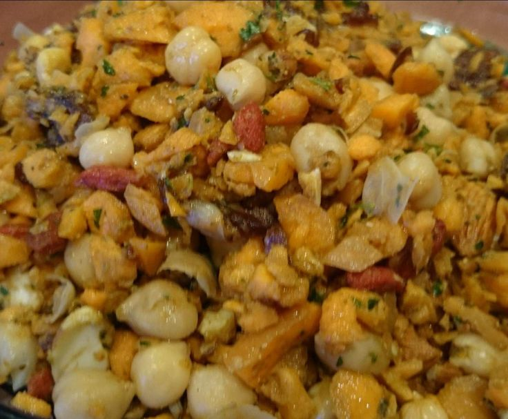 Recipe+Moroccan+Chickpea+and+Carrot+Salad+by+Lenka+Thermie+Taylor+-+Recipe+of+category+Side+dishes