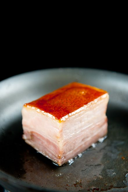 Sous-vide Pork Belly (I don't have the equipment for this, but I love a good pork belly)