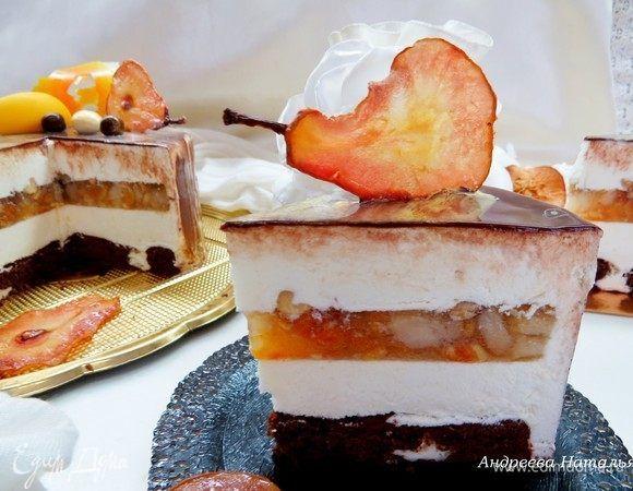 Этот торт давно будоражил мое воображение... За основу взяла рецепт Полины Кошелевой, который был опубликован в журнале «Печь». В рецепт я внесла изменения по своему вкусу, о них подробно напишу чу...