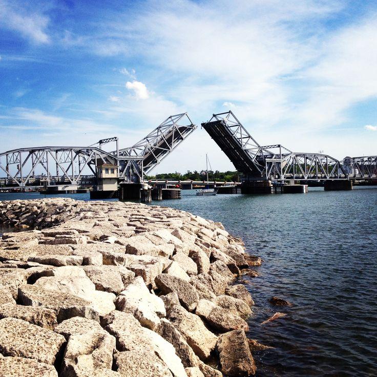 Sturgeon Bay steel bridge
