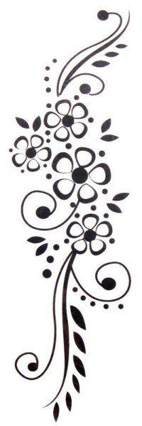 cenefa floral