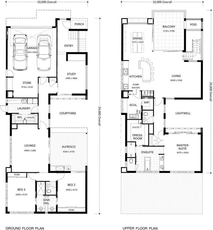 647 best arch floor plans images on pinterest house for Upside down house floor plans