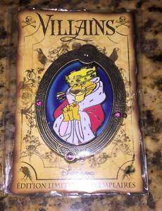 Disney Pin Paris DLRP Le 700 Villains Prince John Robin Hood DLP RARE Framed   eBay
