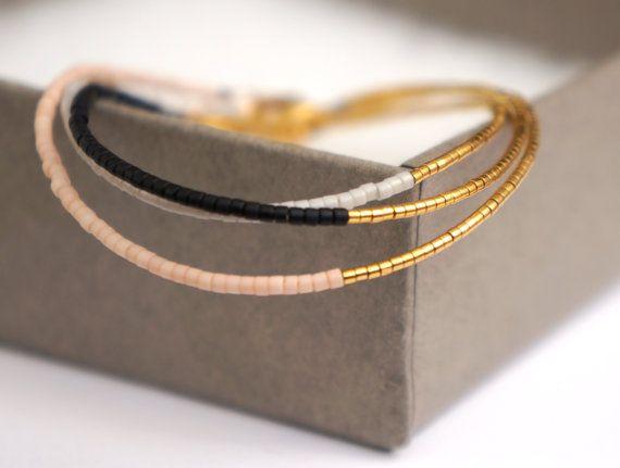 Bracelet or 24 carats plaqué fil & fermoir plaqué par YRSarmcandy