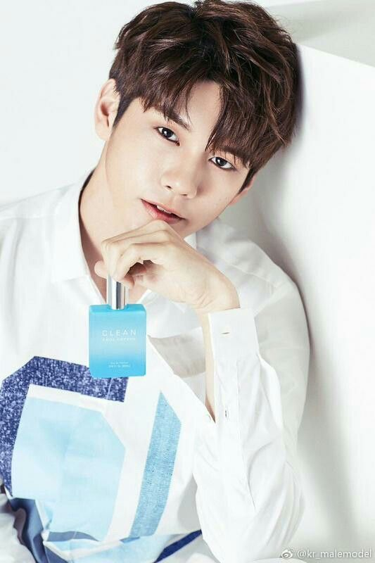 Wanna One - Ong Seongwoo X Clean Perfume