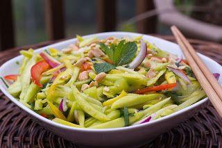 Joy in Thailand: Insalata Thai di mango verde (Yam Ma Muang)