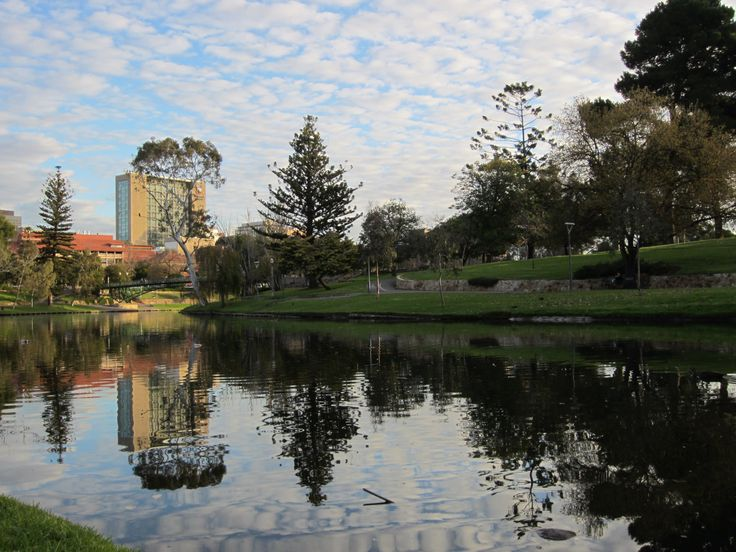 River Torrens, Adelaide, July 2013.