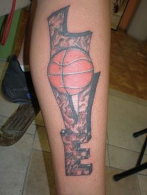 Basketball Tattoos  InkDoneRight  The National Basketball Association is one of the most heavily viewed and loved group of people in America. Basketball Tattoos are a great way to show...