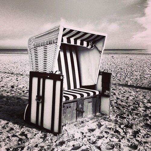 #beach #strand #balticsea #ostsee #usedom #strandkorb #iphone5