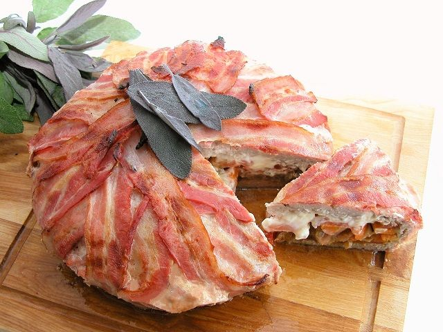 Bacontærte – Grill venner