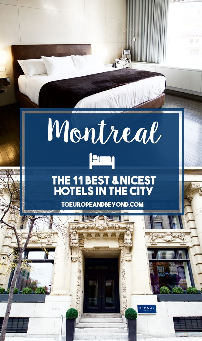 http://toeuropeandbeyond.com/the-definitive-guide-to-montreal-hotels/ A guide to the best and nicest hotels in #Montreal