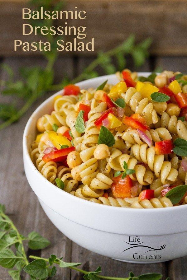 Balsamic Dressing Pasta Salad Balsamic Pasta Salads Easy Pasta Salad Recipe Pasta Salad