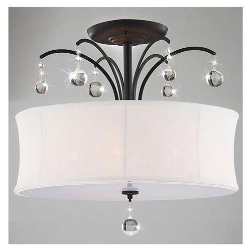 17 Best Images About Master Closet Lighting On Pinterest 5 Light Chandelier Flush Mount