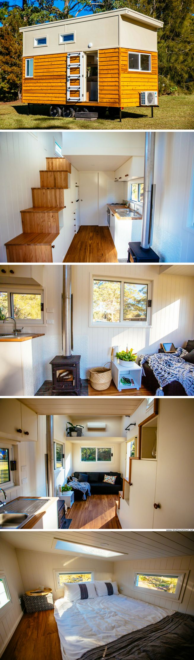 Der Ofen - The Graduate Series from Designer Eco Tiny Homes