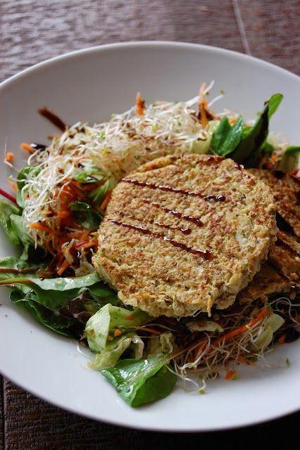 SANS GLUTEN SANS LACTOSE: Galettes de quinoa aux légumes sans gluten et sans lactose