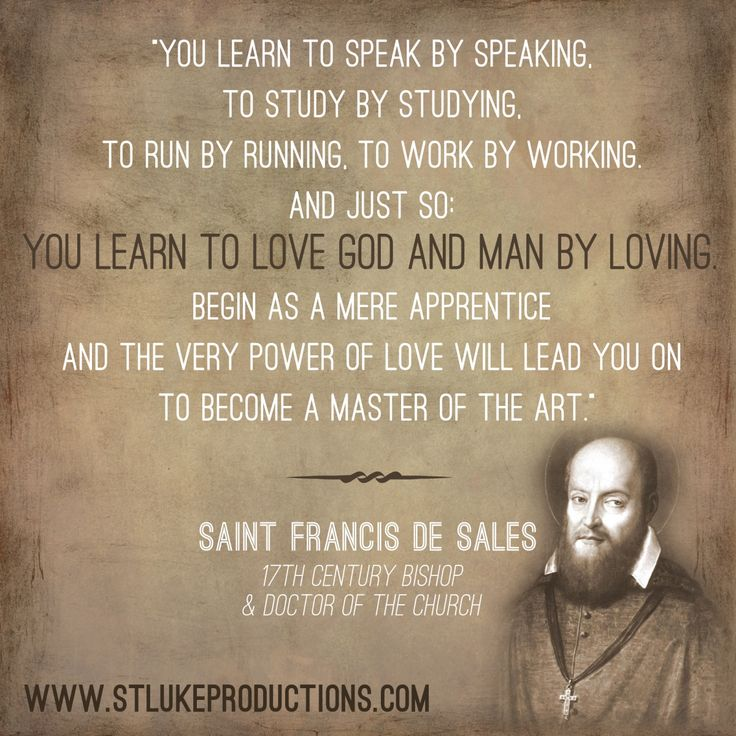 77 Best St. Francis De Sales Images On Pinterest