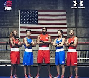 Team USA 2016 Summer Olympics Boxing uniforms by Under Armour. Rio 2016.