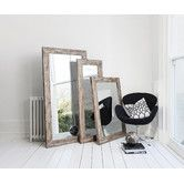 Found it at ZIZO - Stanton Rustic Timber Mirror 54x18