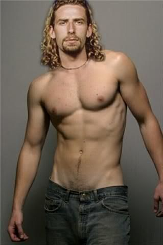 Chad Kroeger from Nickleback.  He is HOT!!!