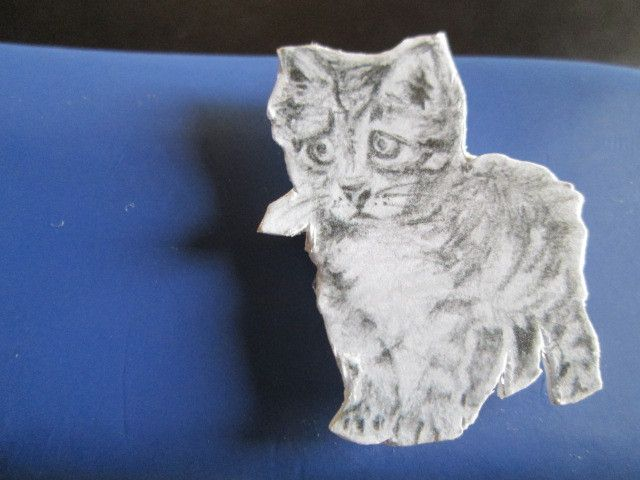Katzen - Magnet von atelier35 auf DaWanda.com