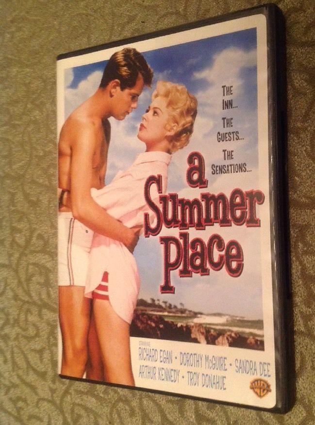 A Summer Place 1959 DVD Sandra Dee Richard Egan Troy Donahue Dorothy McGuire